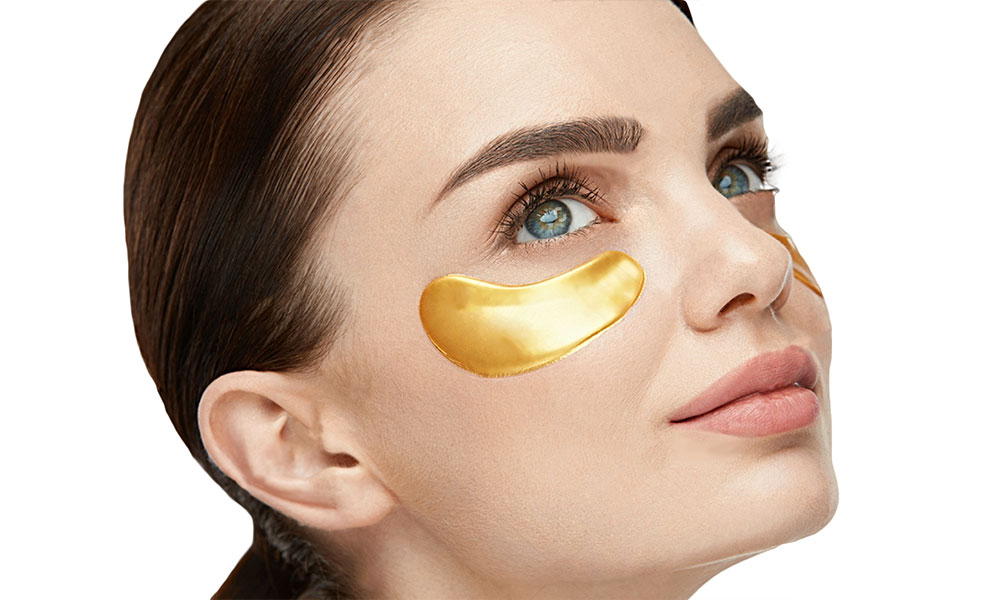 ماسک طلا و کلاژن زیر چشم