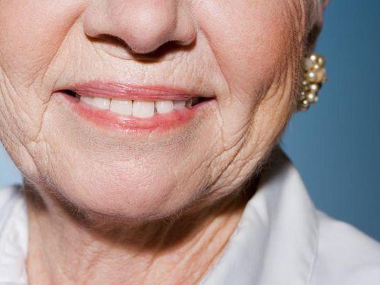 تحلیل رفتن کلاژن پوست صورت و ایجاد چروک در آن