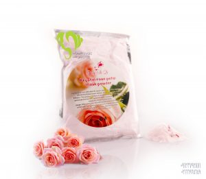 ماسک پودری گل رز