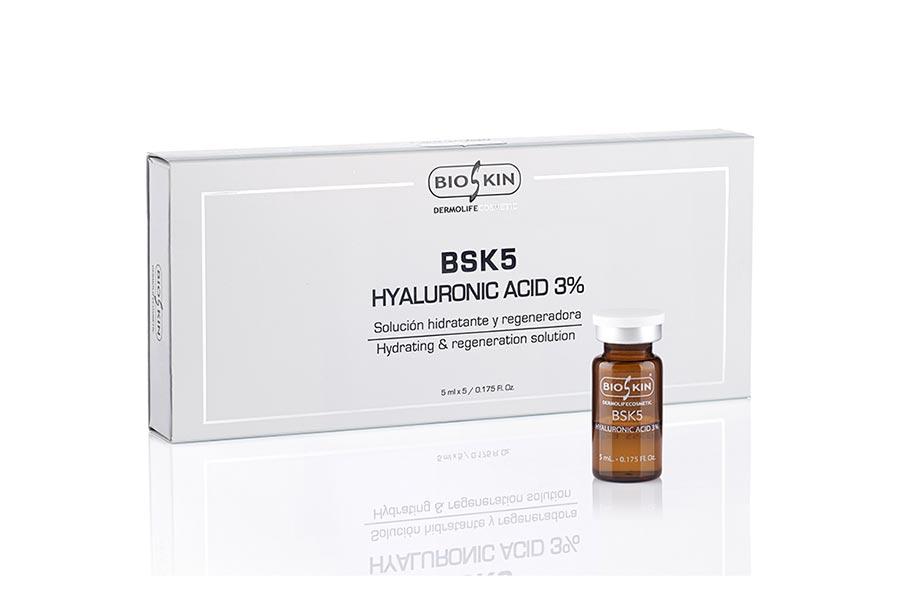 کوکتل هیالورونیک اسید 3 درصد بایواسکین