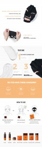ماسک روشن کننده و پاکسازی جی سی