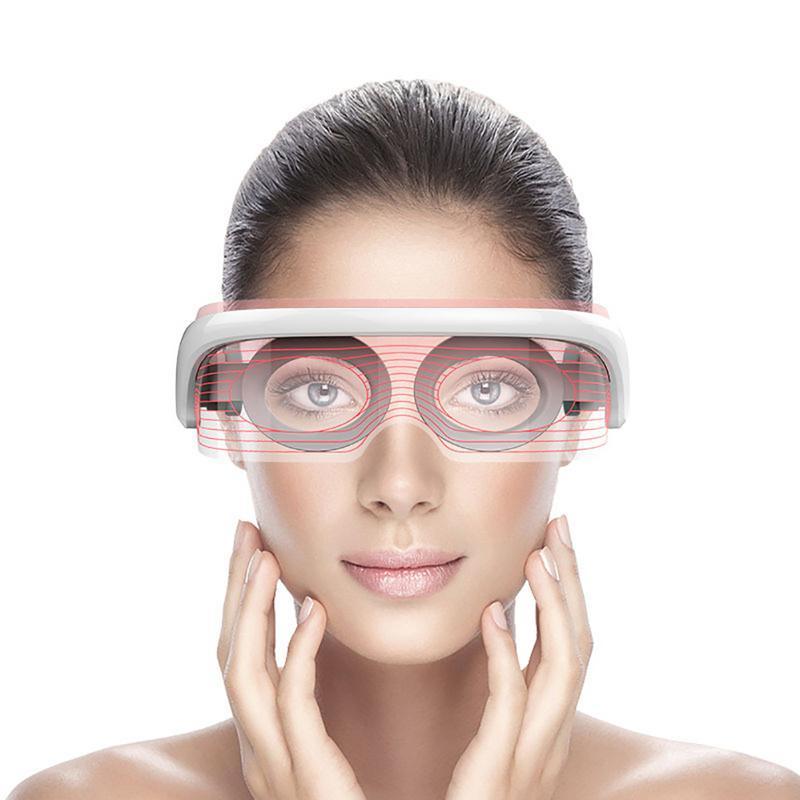 عینک ال ای دی ماساژور حرارتی