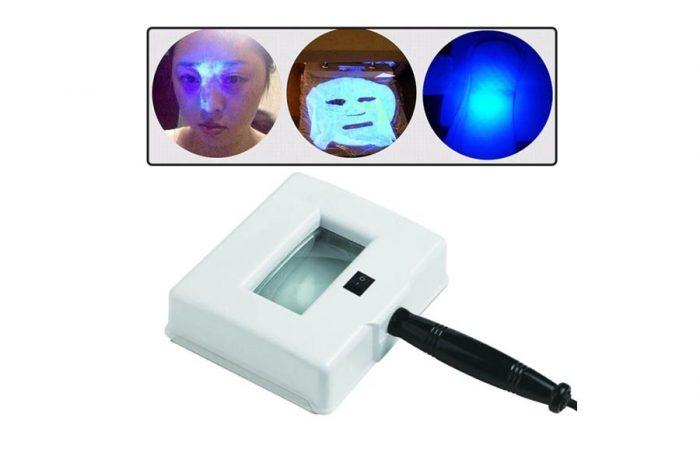 لامپ وود تشخیص بیماری های پوستی