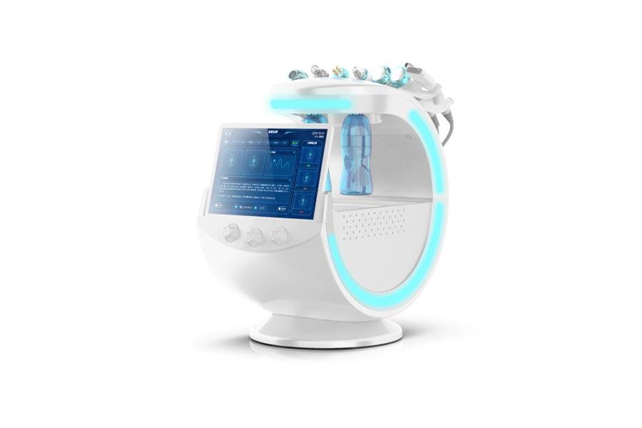 دستگاه هیدروفیشیال اسمارت آیس بلو هوشمند آنالیز پوست