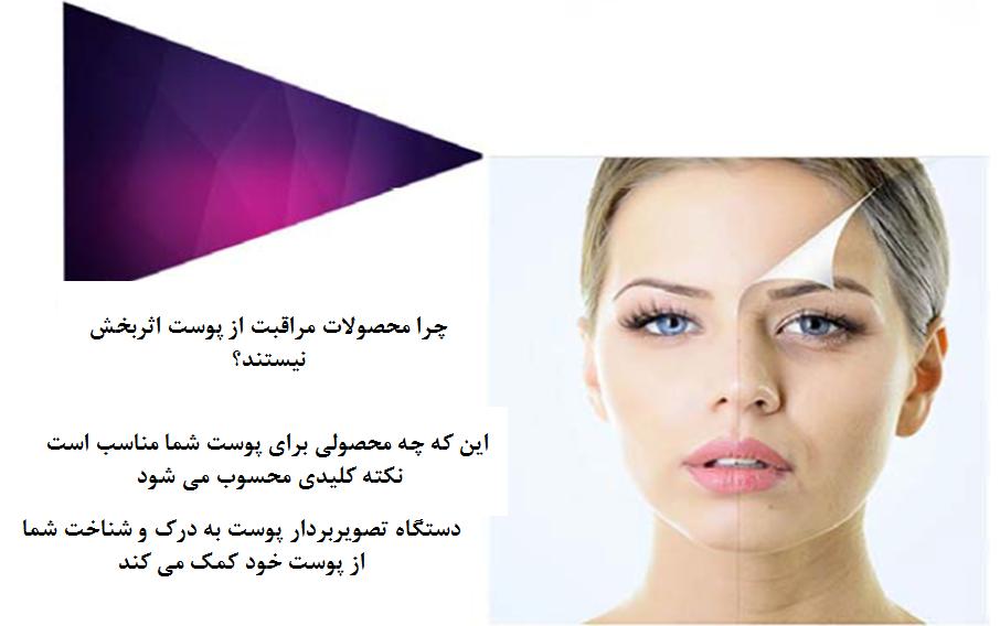 دستگاه آنالیز پوست صورت سه بعدی هوشمند